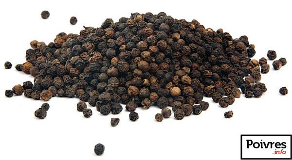 Poivre noir en grains